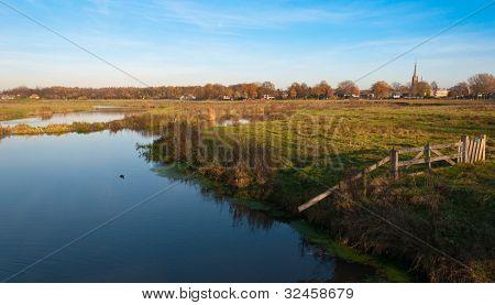 Dutch Landscape In Autumn