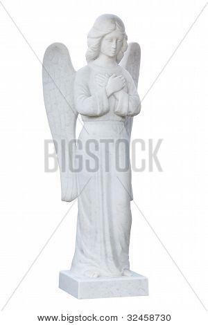 Angel. Statue.