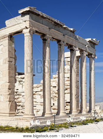 Ruins Of Erechtheion Temple - Acropolis