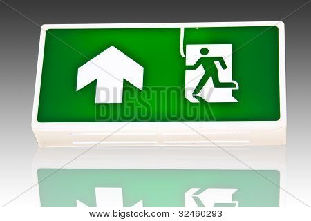 Fire Exit Signs.