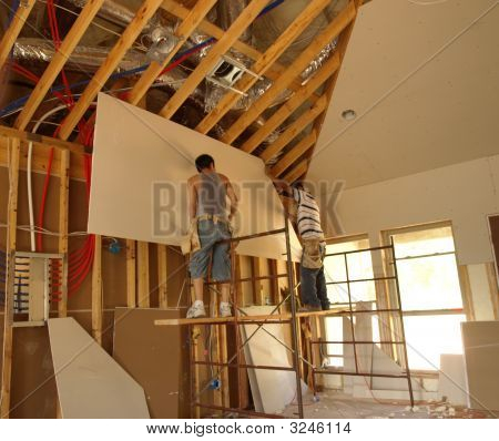 Putting Up The Ceiling
