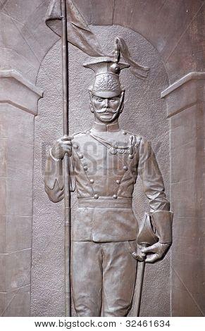 Soldat Bronze, Herzog von Cambridge Denkmal, westminster