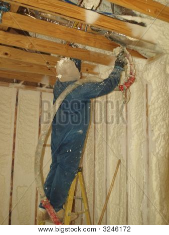 Blowing Insulation