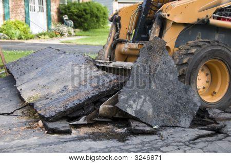 Deconstructing A Driveway