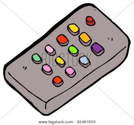 cartoon remote control