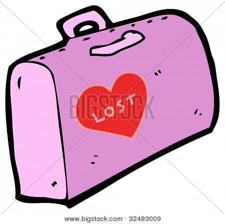lost luggage cartoon