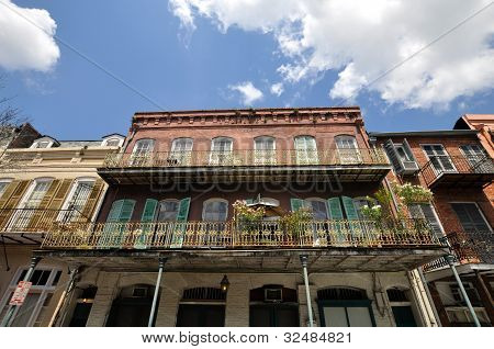 Old New Orleans Balcony