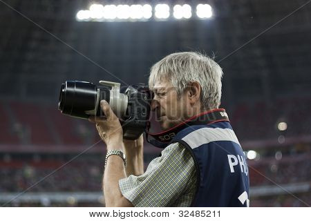 Unidentified Professional Sports Photographer