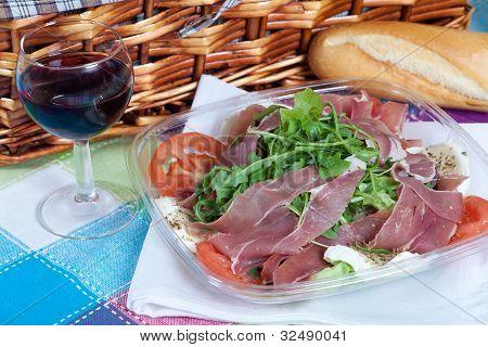 Parma Ham Salad