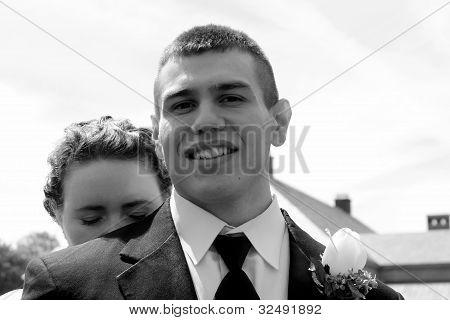 precious newlyweds