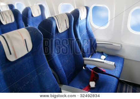 Interior do avião