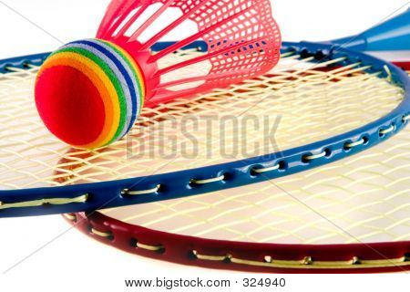 Colorful Racquet Sports