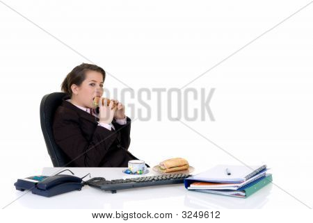 Young Secretary, Lunch Break