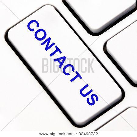Contact us keyboard key