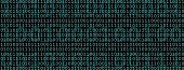 pic of binary code  - Overlaid green binary code sequences - JPG