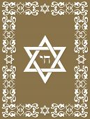 foto of obeah  - Jewish David star design   - JPG