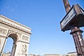 image of charles de gaulle  - The Arc de Triomphe  - JPG
