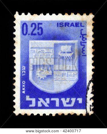 Coat Of Arms Of Akko,  Israel