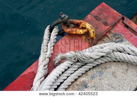 cadeia e corda grossa