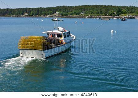 Heading To Port
