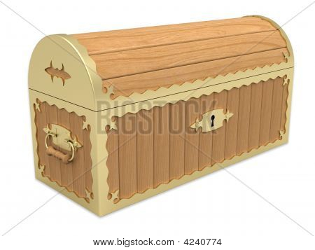 Locked Wooden Chest