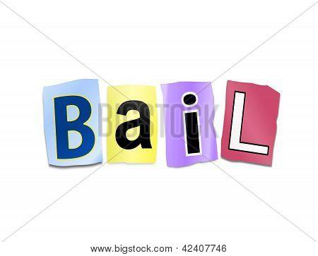 Bail Concept.