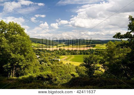 Saale valley View