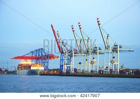 Container-Terminal (Horizontal)