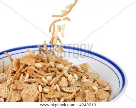 Filling The Cereal Bowl