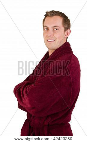 Young Man In Robe
