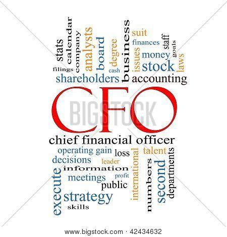 Cfo Word Cloud Concept