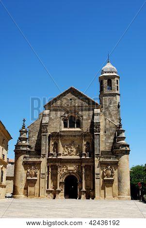 Church, Ubeda, Andalusia, Spain.