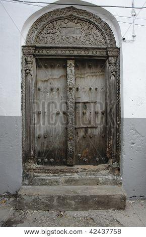 Puerta en Zanzibar