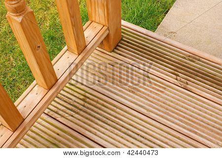 Garden Decking Corner