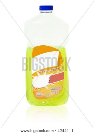 All Purpose Cleaner With Blank Labels