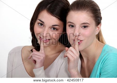 Girls with a secret