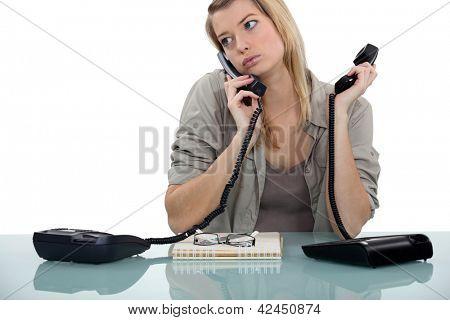 电话接线员
