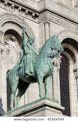 Knight In The Sacre Coeur, Montmarte, Paris, France