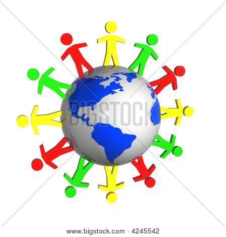 People Near The Earth