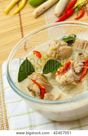 Thai Chicken Galangal Soup