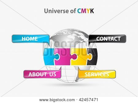 unicerse of cmyk