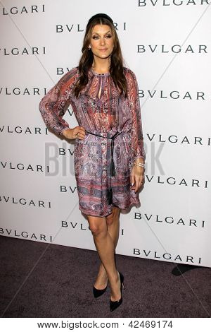 LOS ANGELES - FEB 19:  Kate Walsh arrives at the BVLGARI Celebrates Elizabeth Taylor's Jewelry Collection at the BVLGARI on February 19, 2013 in Beverly Hills, CA