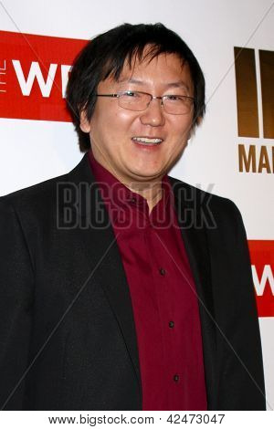 LOS ANGELES - FEB 20:  Masi Oka arrives at The Wrap Pre-Oscar Event at the Culina at the Four Seasons Hotel on February 20, 2013 in Los Angeles, CA