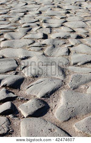 Appian way pavement