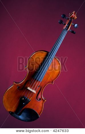 Complete Violin Viola On Red