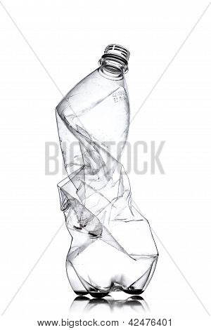 Smashed Plastic Bottle