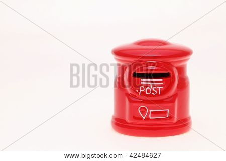 Post bank style money box