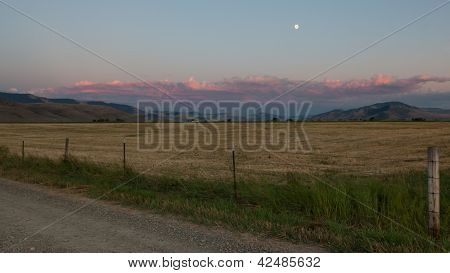 Paisagem de fazenda Montana