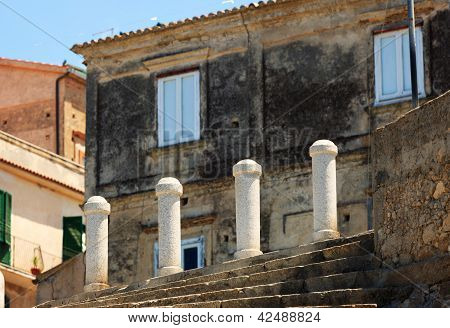 Architectural Detail In Tropea