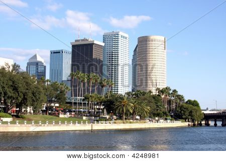 Tampa Downtown Architecture, Florida, Usa